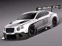Bentley Continental GT3 2014 Race Car