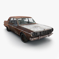 Rusty Dodge Dart 1965