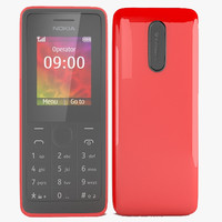 Nokia 106 Black, White, Red(1)