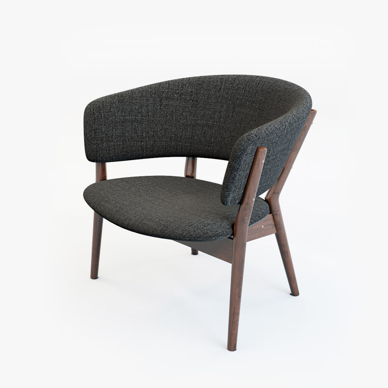 nanna lounge chair 3d model