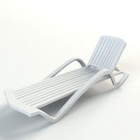 lounge plastic copacabana 3d model