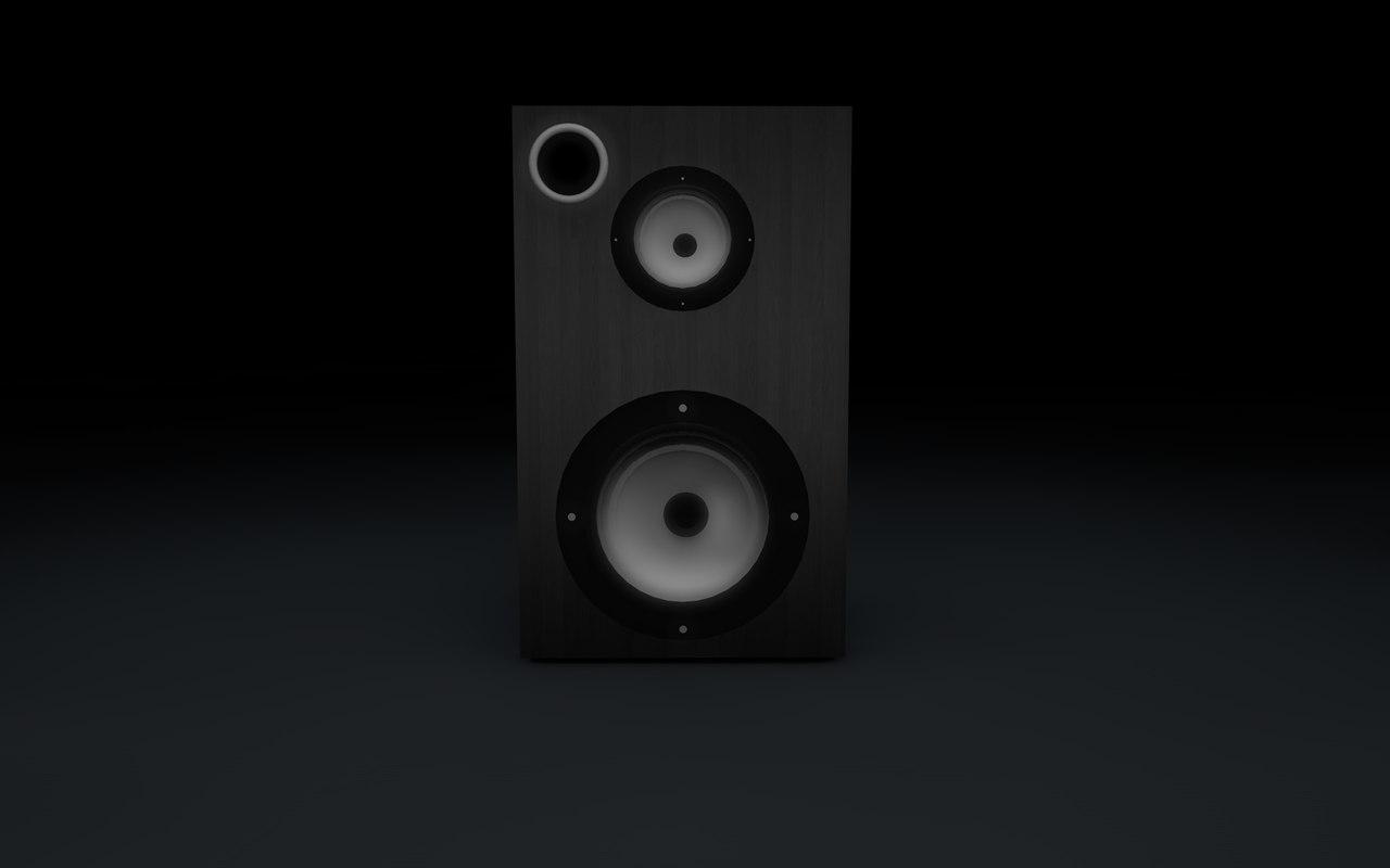 little speaker c4d