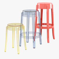 max charles ghost stool kartell