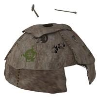 stone spear 3d model