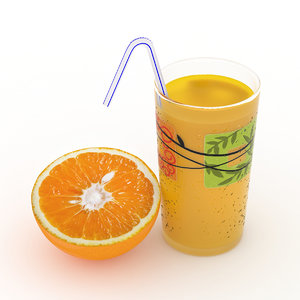 glass orange juice max