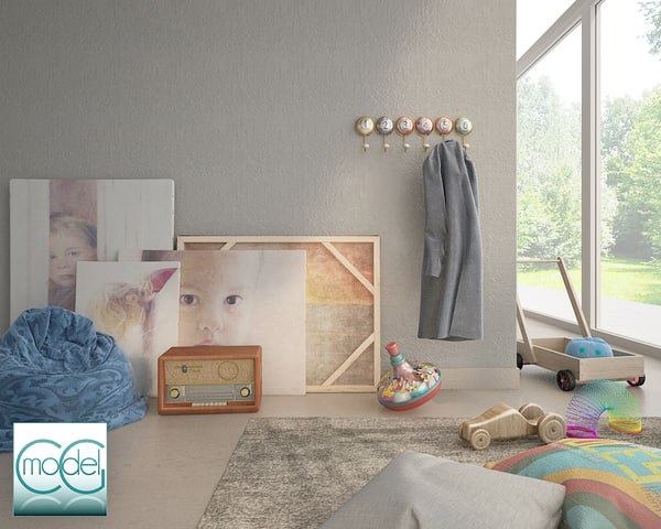 object interior set 3d model