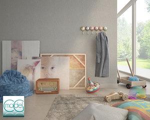 object interior set 3d model