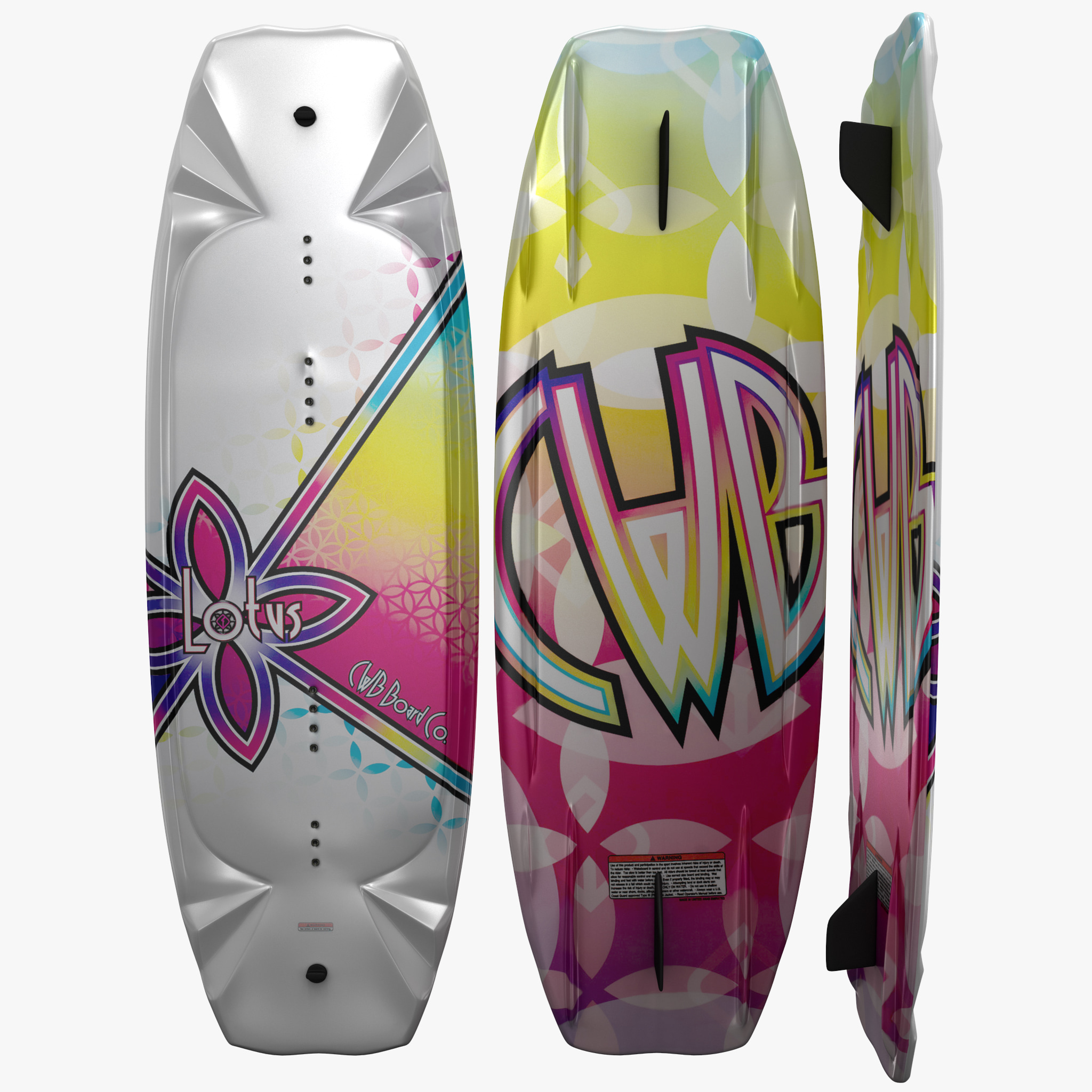 3d wakeboard board