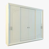 3d rio wardrobe model