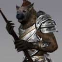 3s gnoll rpg character