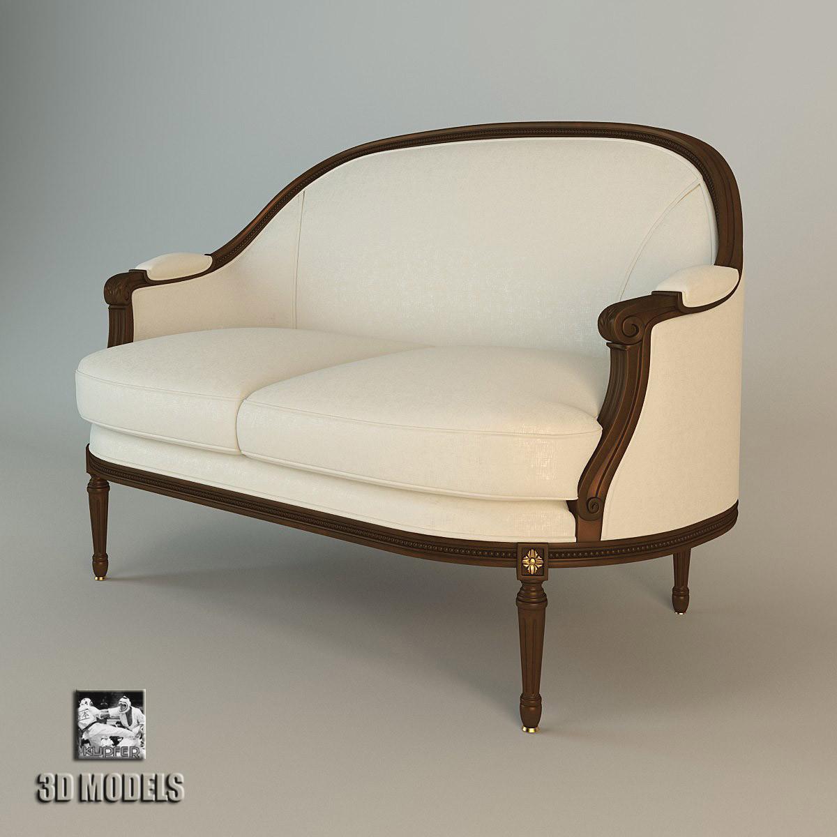 francesco molon sofa 3d fbx