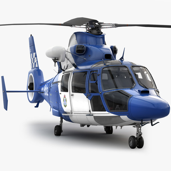 eurocopter 365 3d max