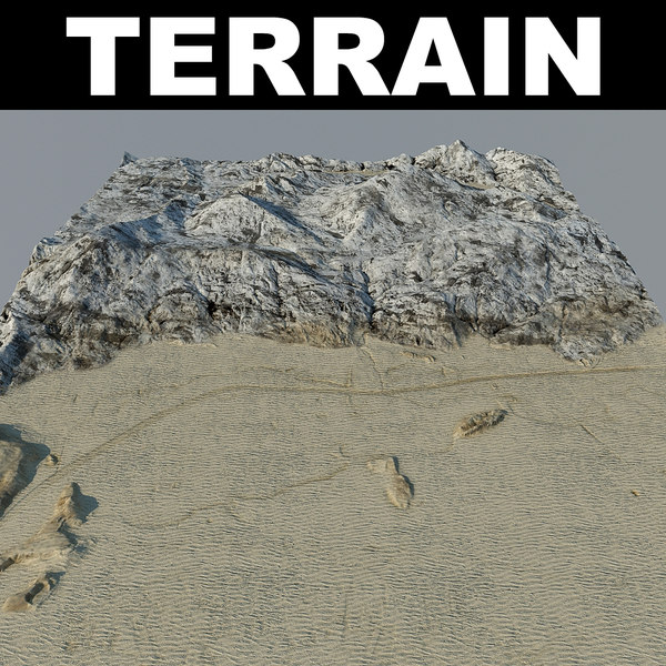 3d model terrain 5