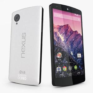 lg nexus 5 3d max