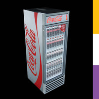 Drinks Fridge Coca-Cola GDMRetro
