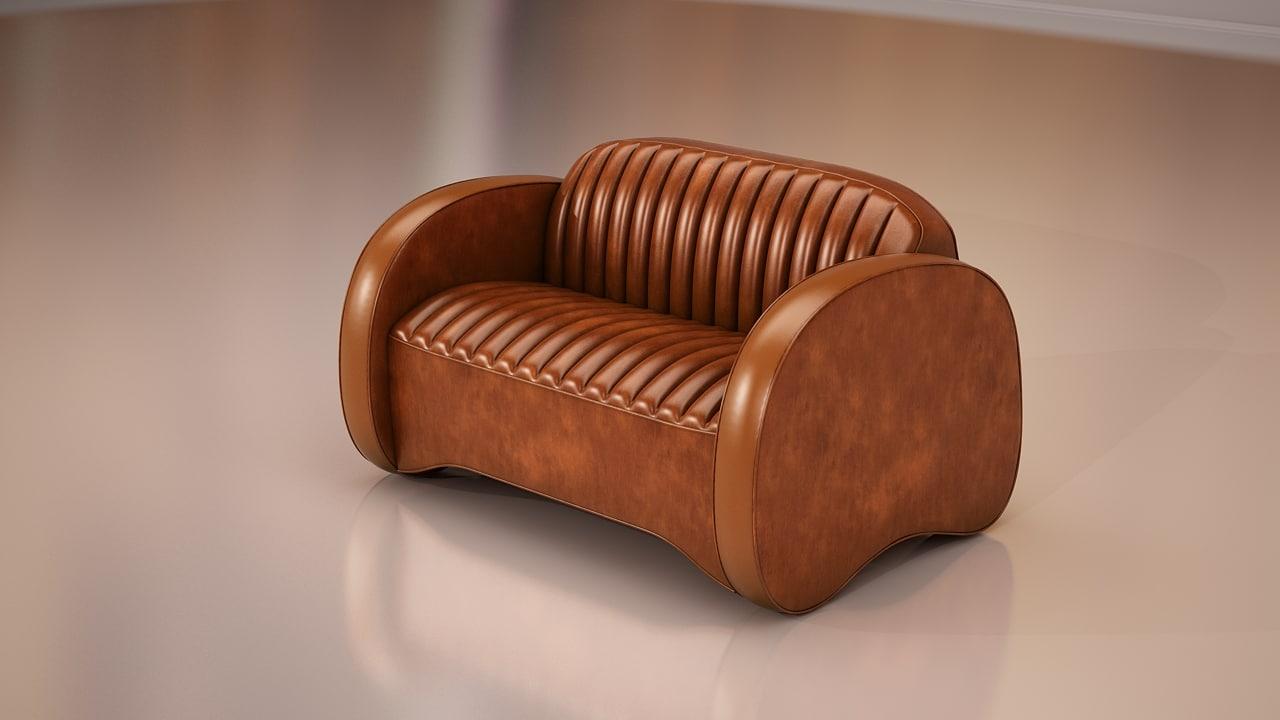 3d model furniture classic sofa