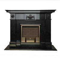 Italian classicism fireplace