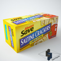 3d saltine crackers