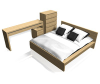 IKEA-Malm bedroom Furniture Set