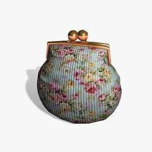 old purse 3d 3ds