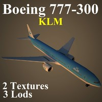 boeing 777-300 klm max