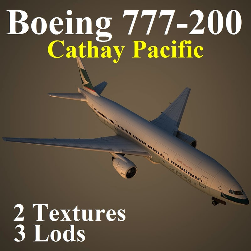 max boeing 777-200 cpa