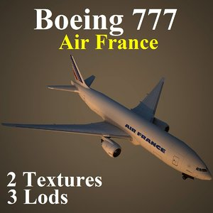 max boeing 777 afr