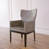 3d barbuda lounge chair model