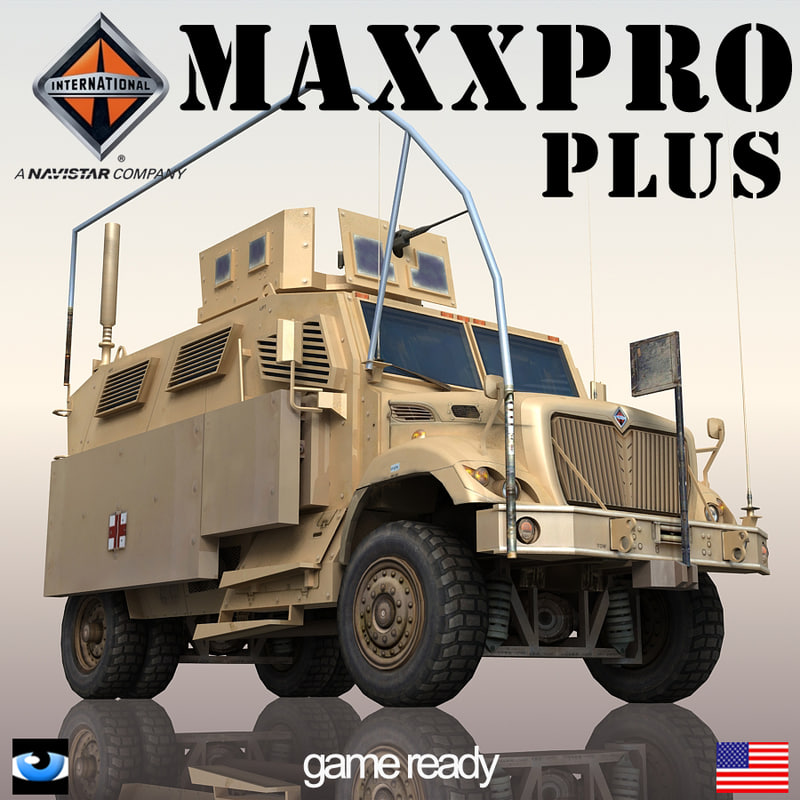 3d international maxxpro model