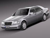 Mercedes-Benz S-class W140 1991-1998