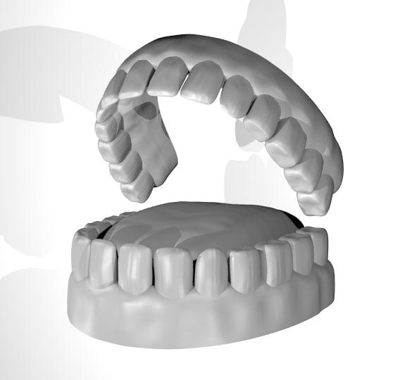free character tongue 3d model