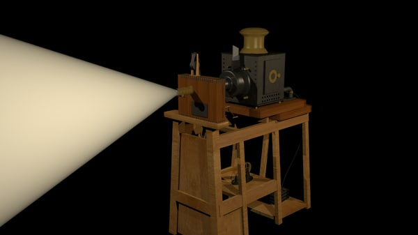 projector lumiere 3d model