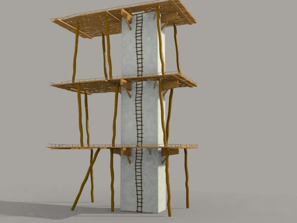 3d scaffolding old