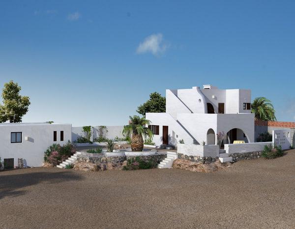 3ds max villa architectural house