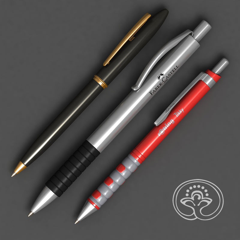 3d pens rotring faber-castell