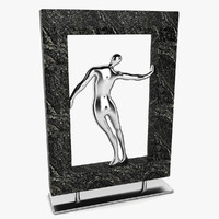 3d framed man figure