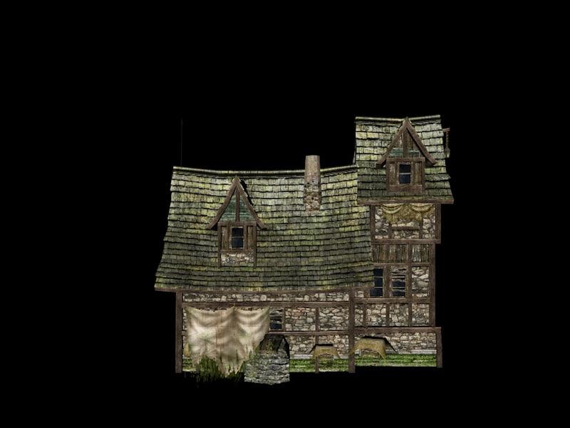 maya house medieval