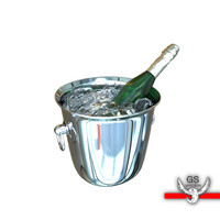 3ds max champagne ice bucket