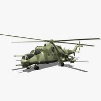 maya mi-24 hind helicopter