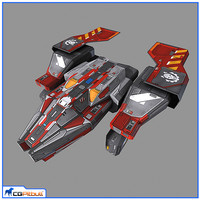 6x lowres spaeships model