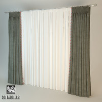 Curtains Art Deco Velvet