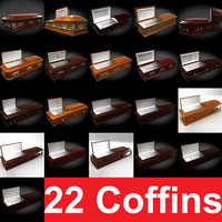 coffin 22 3d model