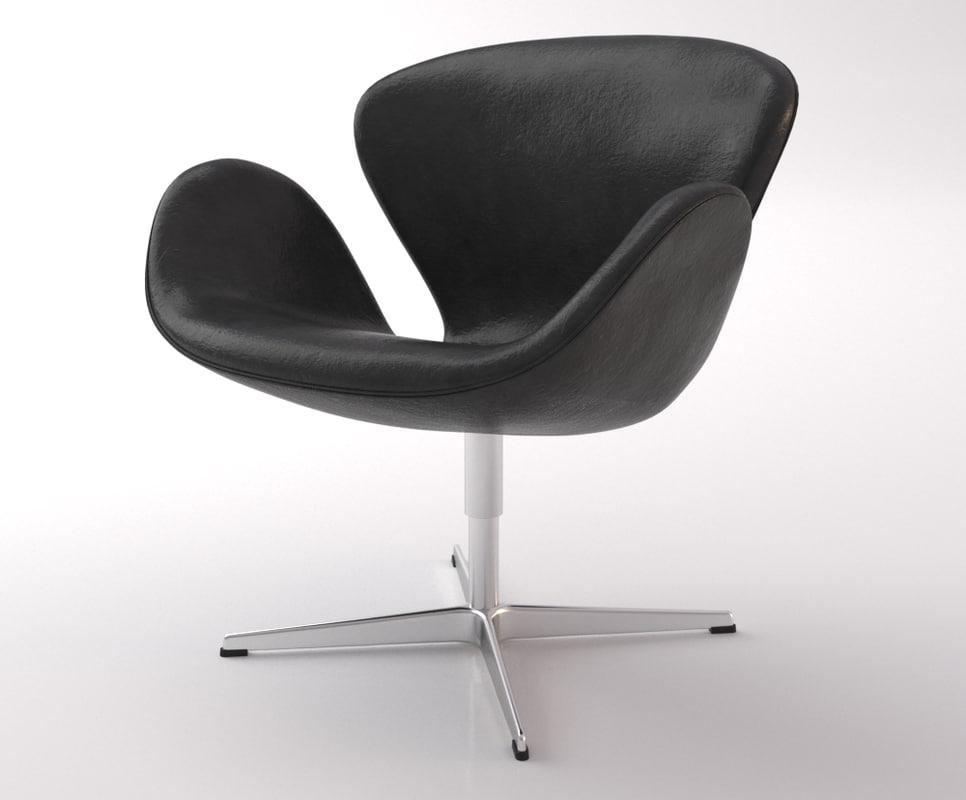 fritz hansen swan chair max