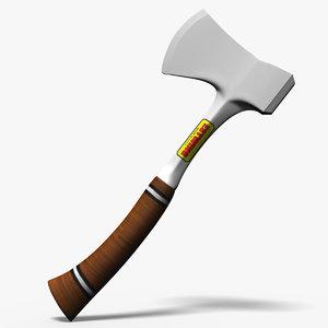 3d estwing axe model