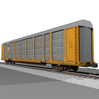 Train Car: Union Pacific Autorack / Car Carrier