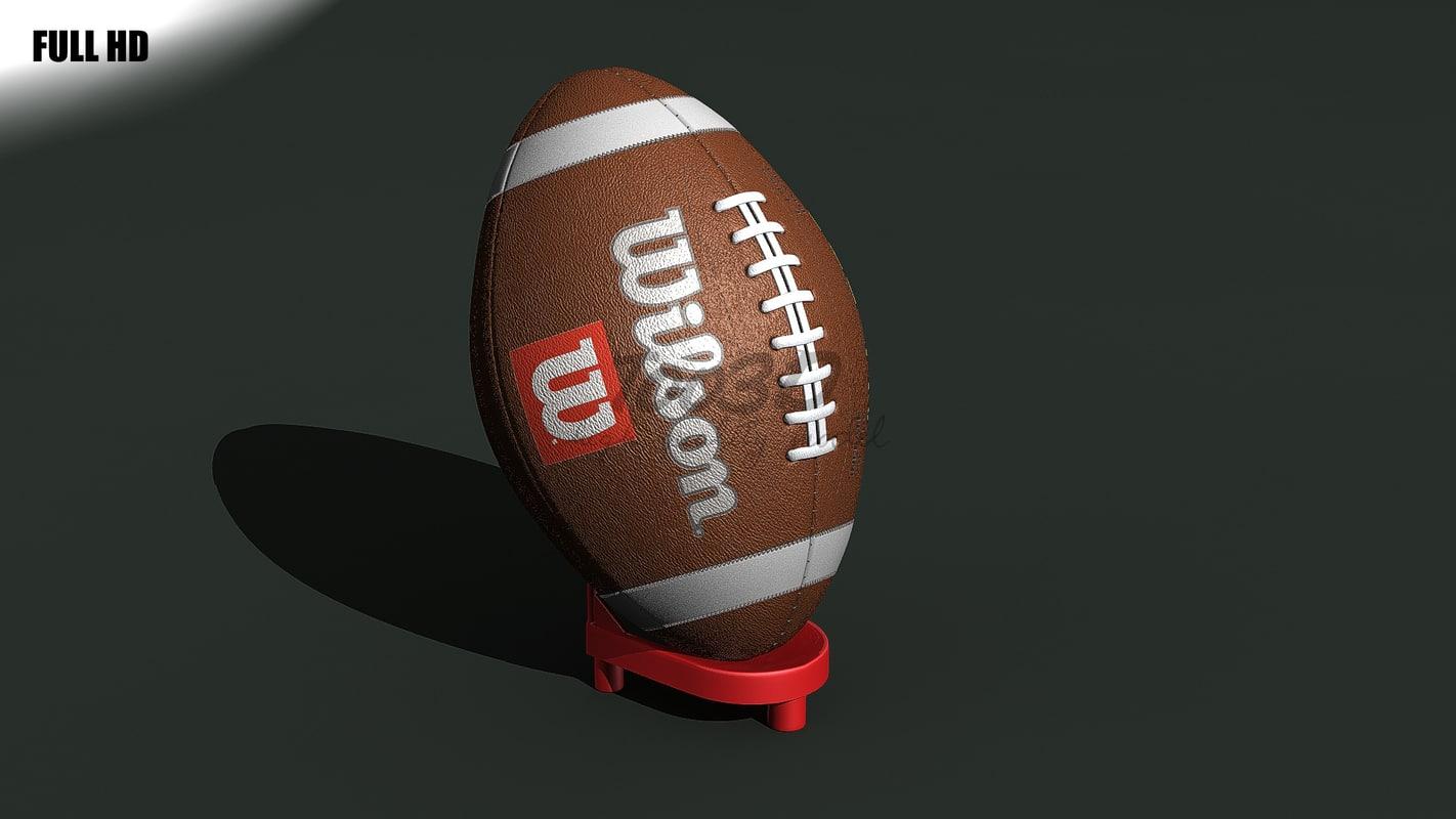football ball 3d c4d
