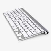 wireless keyboard 3d max