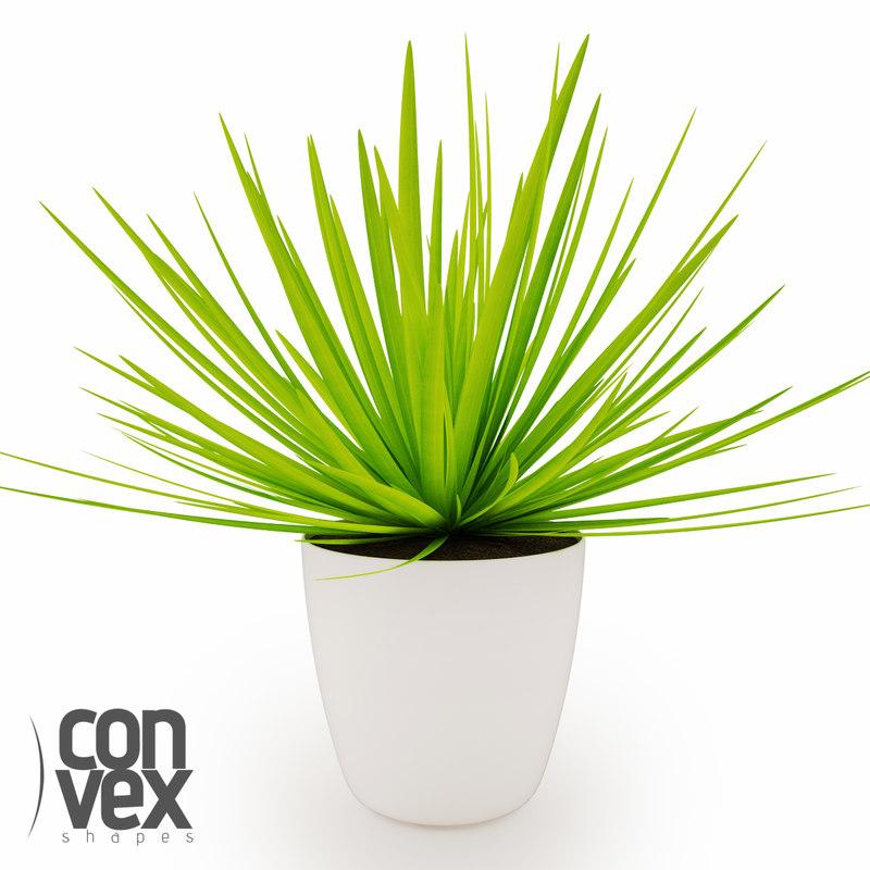 3d potted plants 07