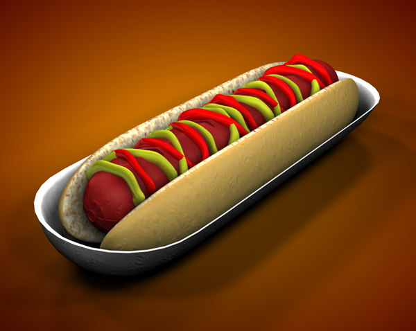 hotdog hot dog c4d