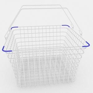market basket 3d max